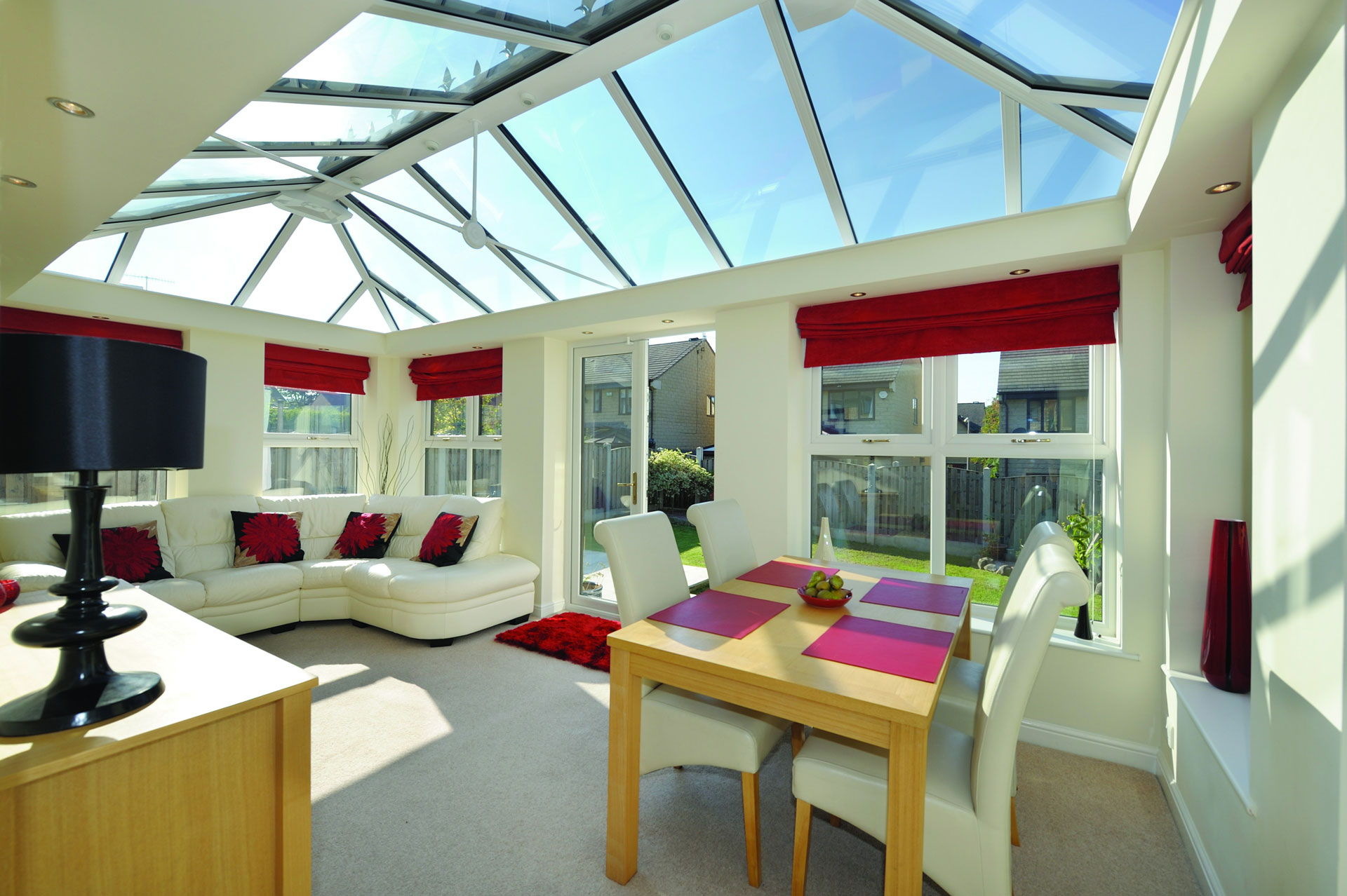 Livinroom conservatory installation Winchester Hampshire