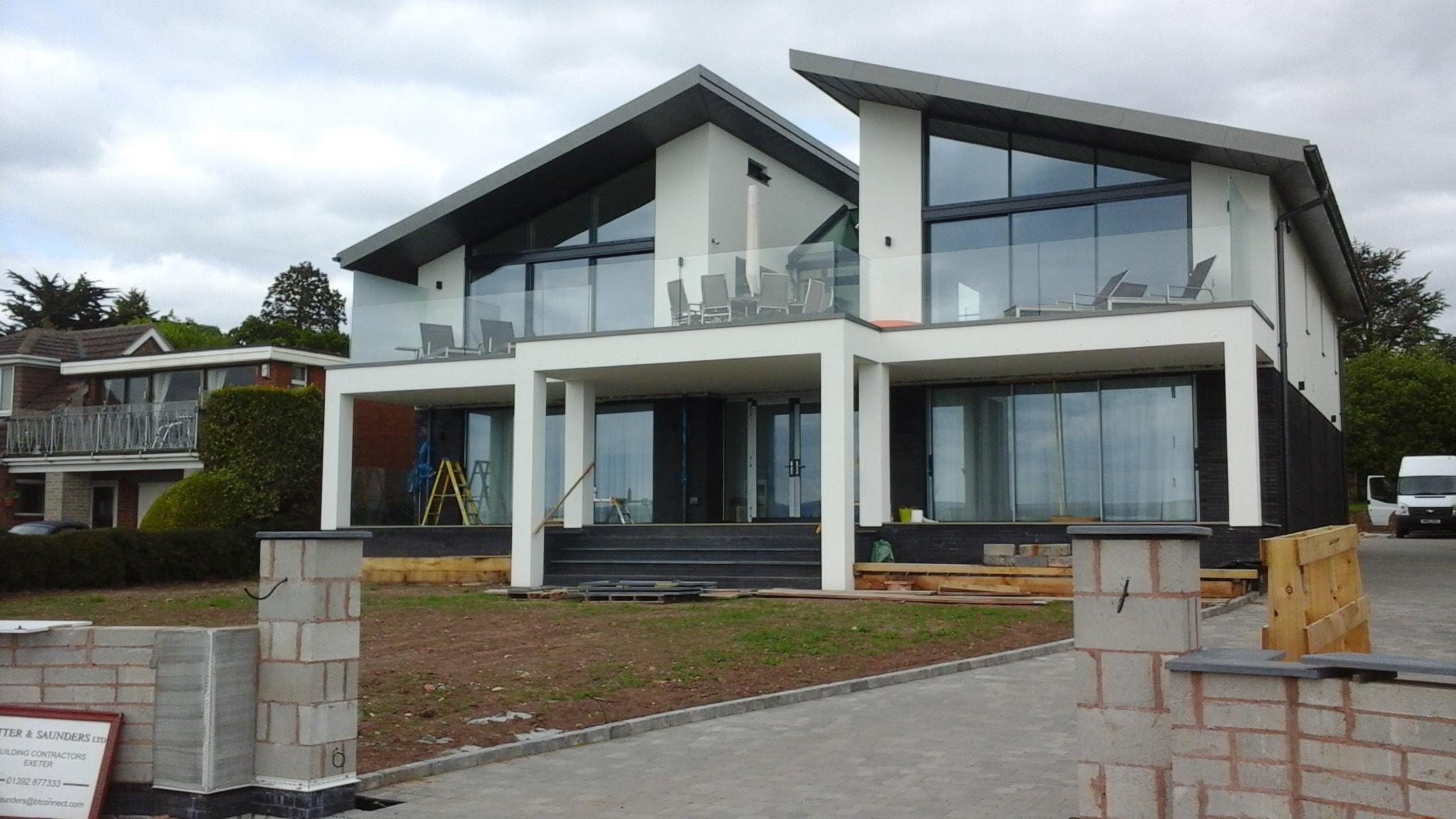 Aluminium Front Door Installation Winchester Hampshire