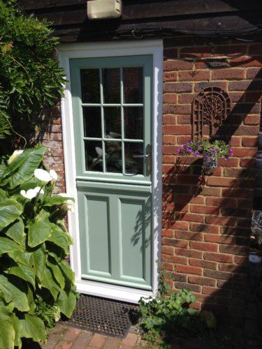 Chartwell Green Stable Composite Door