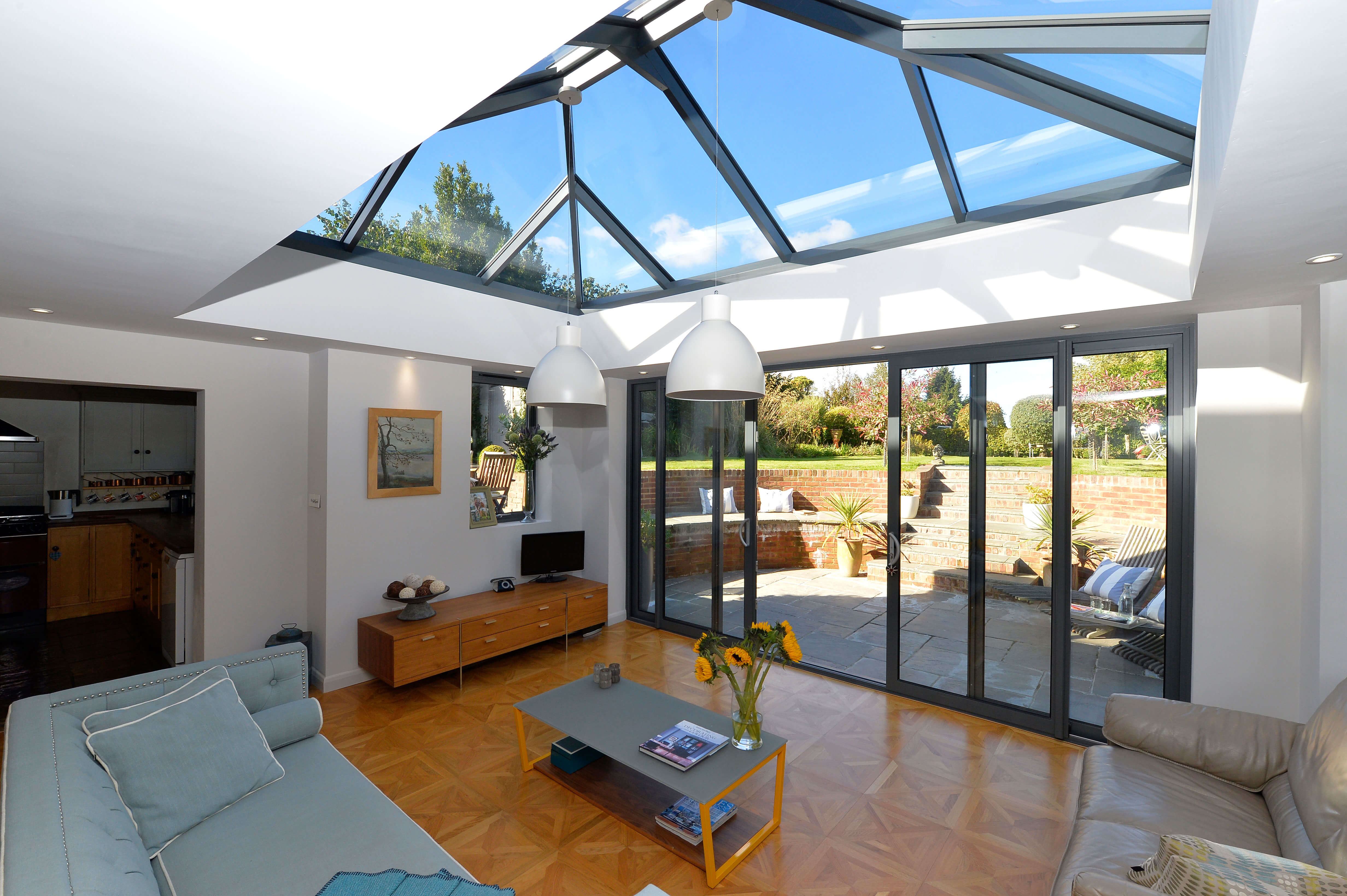 Aluminium Patio door Installation Winchester, Hampshire