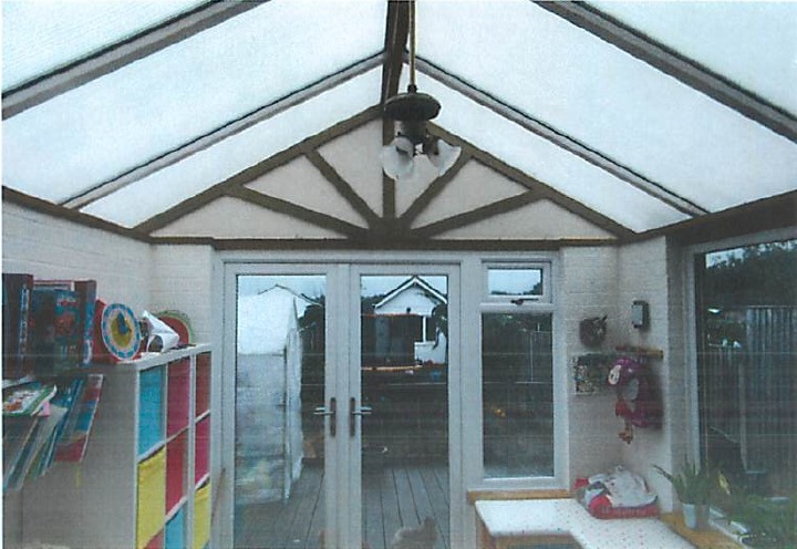 BEFORE Tiled Conservatory Roof Installation Hampshire