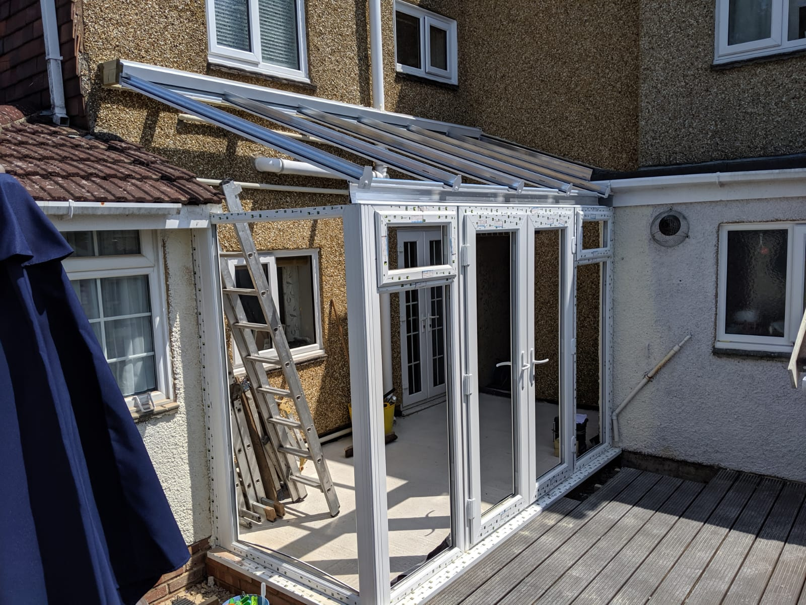 Lean-To Conservatory Installation Southampton