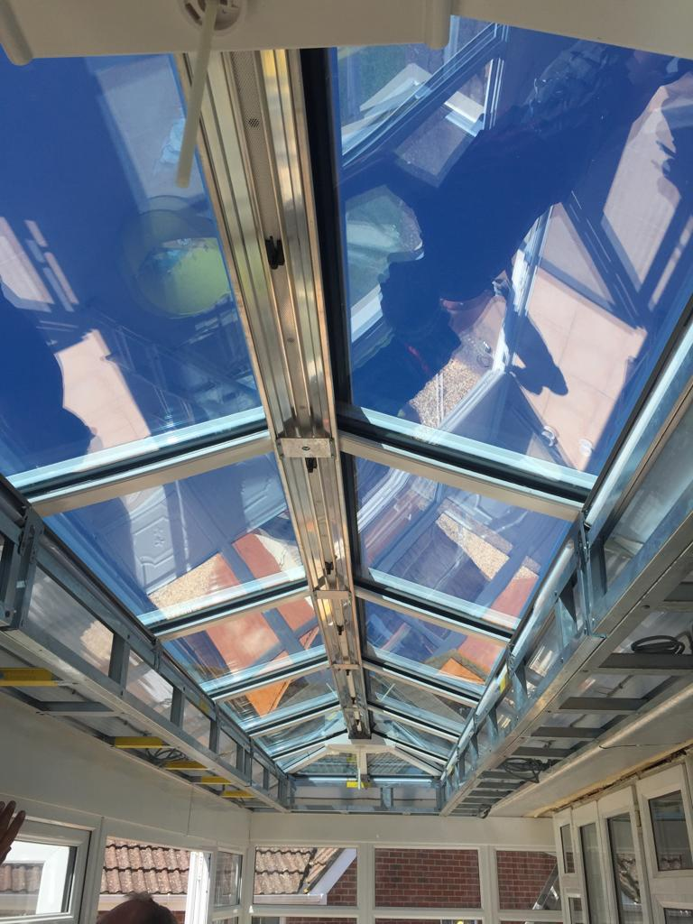 Glass Conservatory Roof Installation Bournemouth