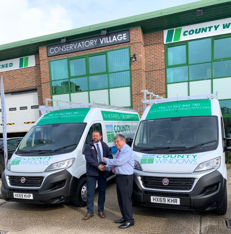 County Windows Launches New Vans