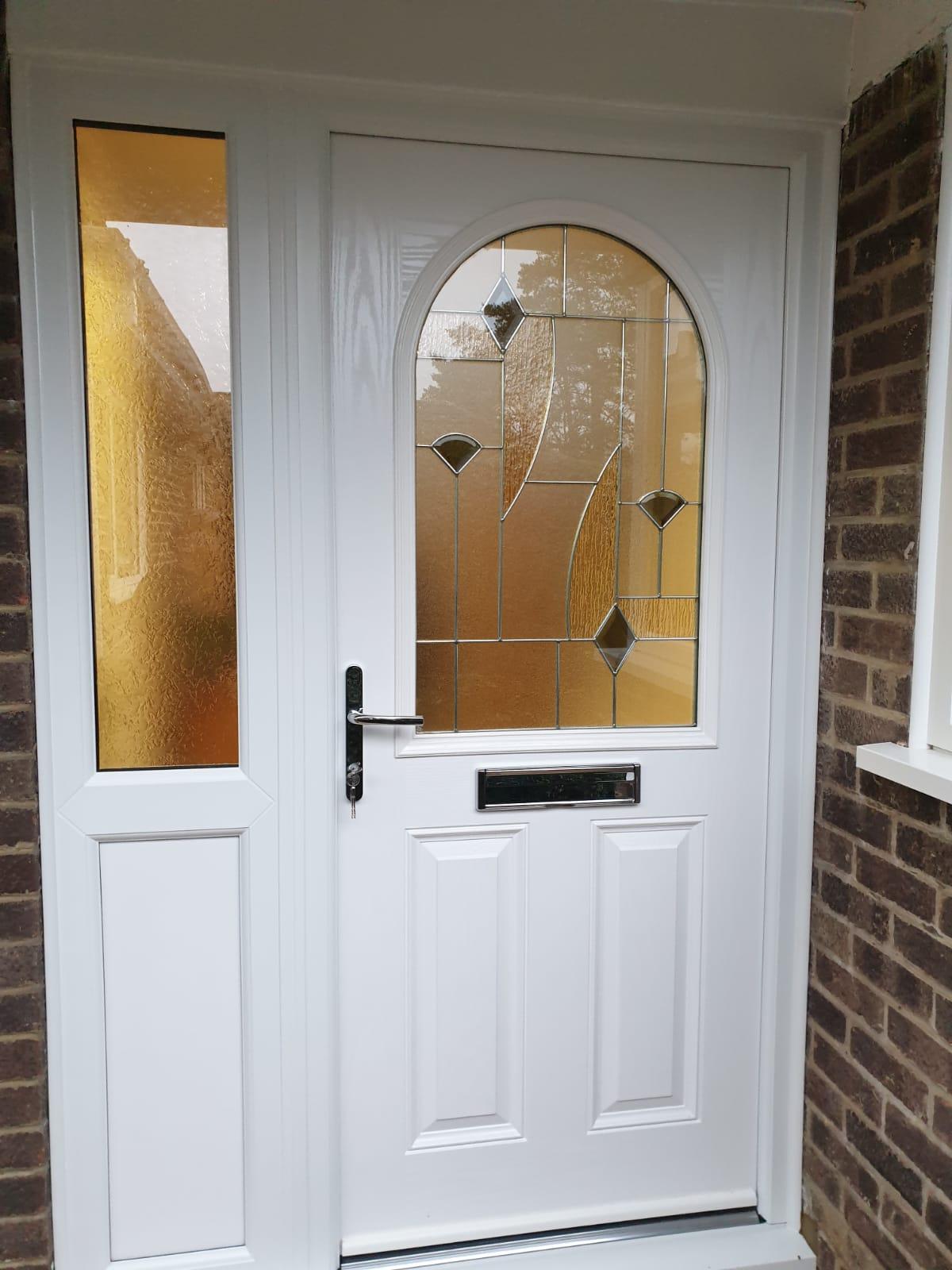 front uPVc doors