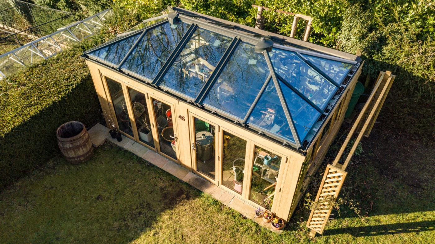 Garden Room Installation Surrey