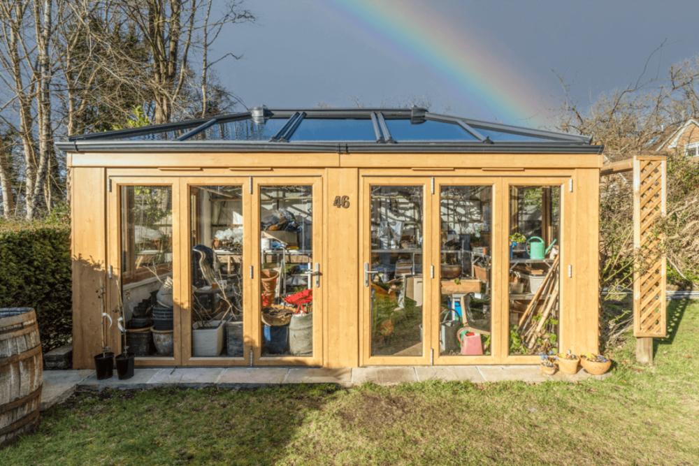 garden home office Surrey