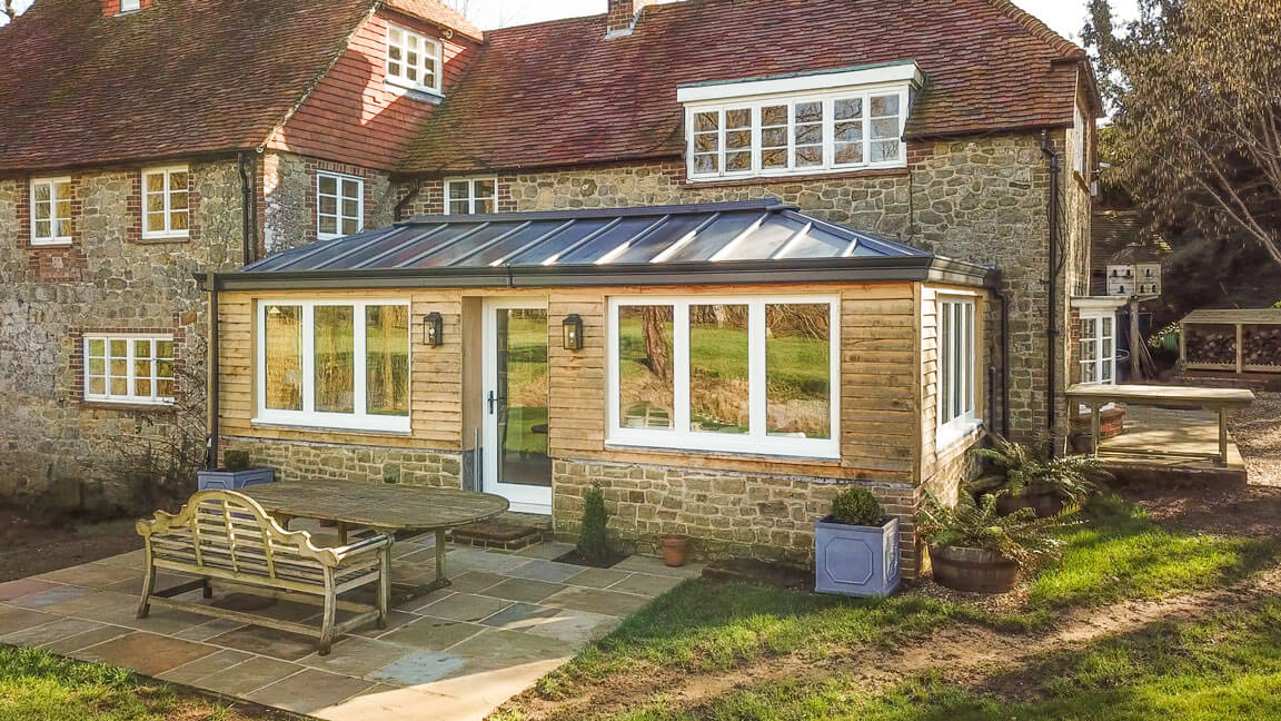 Solid Roof Conservatory Winchester